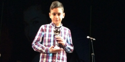 Totti Vocal Studio premiato al Talent Show 2014 con Antonio Marano