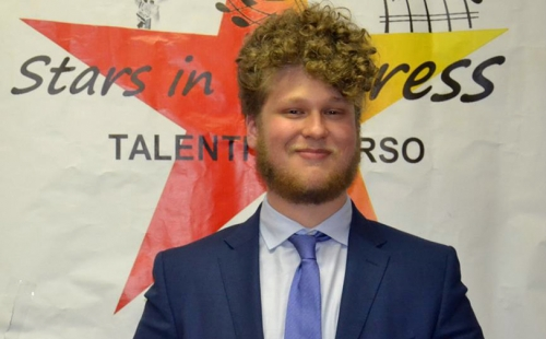 Filippo Cini trionfa a Stars in Progress 2014
